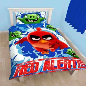 Angry Birds Movie Big Red Single Duvet Cover