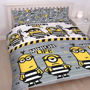Despicable Me 3 Jailbird Double Duvet Cover Front