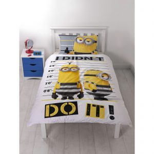 Despicable Me Jailbird Single Dekbedovertrek Polycotton Front