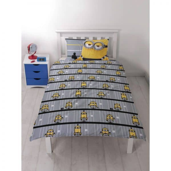 Funda nórdica Despicable Me Jailbird Polycotton inversa