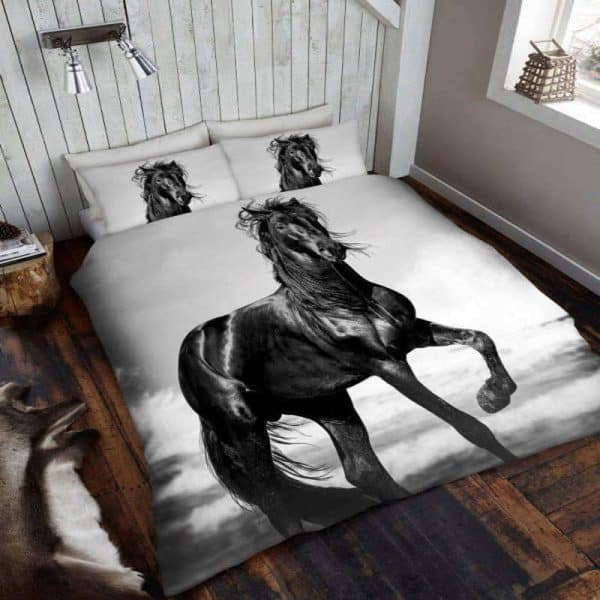 Funda nórdica Black Horse