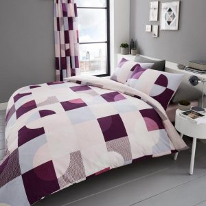 Alexa Geometric Duvet Cover Multi