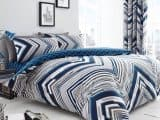 Austin Chevron Striped Single Duvet Cover