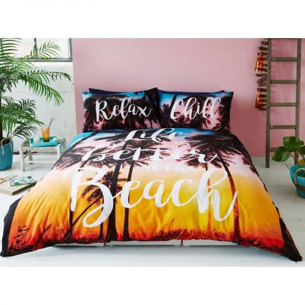 Beach Tropical Duvet Cover