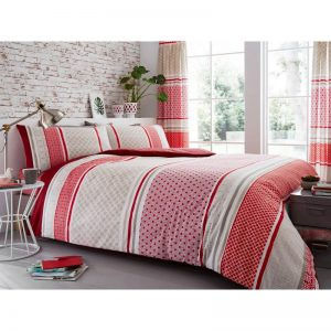 Charter Stripe Striped Duvet Cover Natural