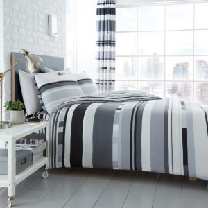 Chester Stripe Duvet Cover Mono