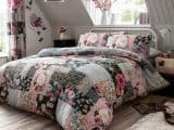 Ellis Floral Patchwork King Duvet Cover