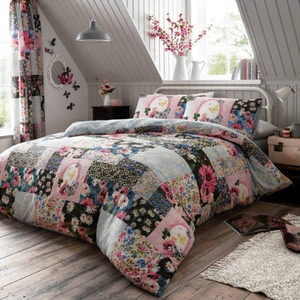 Ellis Floral Patchwork Dyne Cover