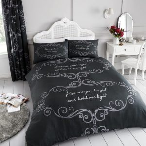 Goodnight Duvet Cover Charcoal