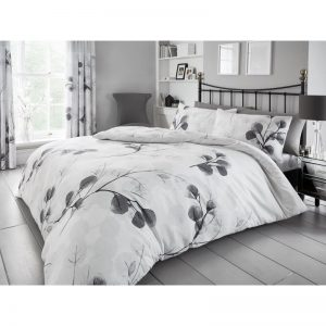 Honesty Leaf Floral Duvet Cover