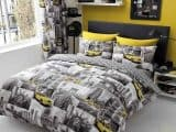 New York Patchy King Duvet Cover