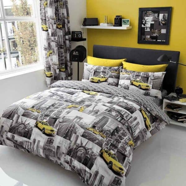 New York Patchy Duvet Cover