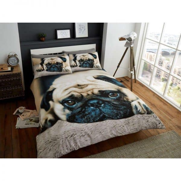 Sweet Pug Duvet Cover