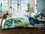 Tropical Leaf Double Duvet Cover