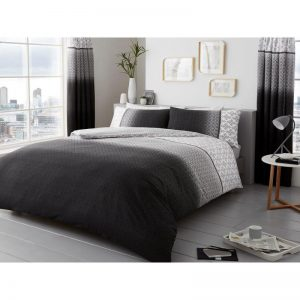 Urban Ombre Duvet Cover Grey