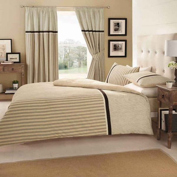 Valeria Striped Duvet Cover Striped