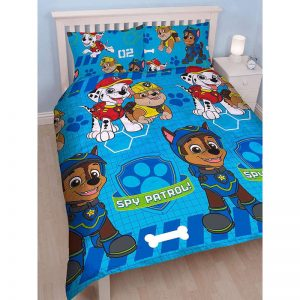 Paw Patrol Spy Double Duvet Cover Front