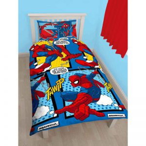 Spiderman Webhead Single Duvet Cover Front
