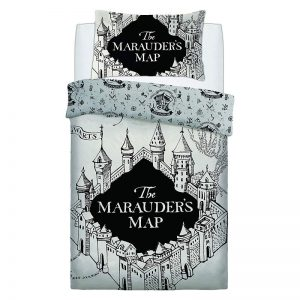 Harry Potter Marauders Map eenpersoonsdekbedovertrek