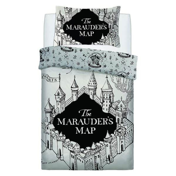 Harry Potter Marauders Map Single Duvet Cover