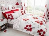 Poppy Floral Double Duvet Cover