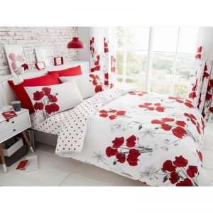 Gaveno Cavailia Poppy Duvet Cover Red