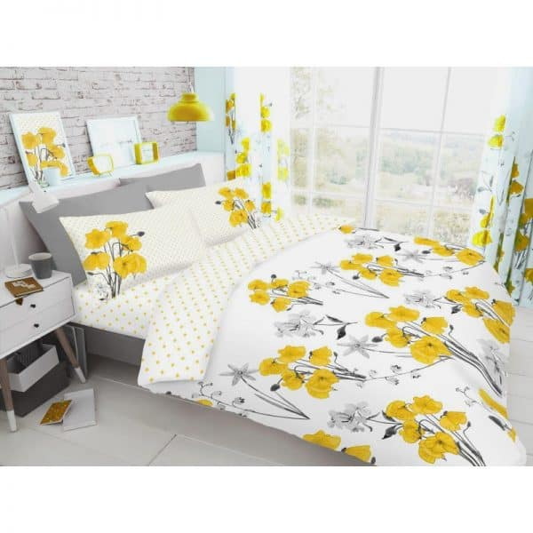 Gaveno Cavailia Poppy Duvet Cover Yellow