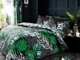 Dark Tropical Single Duvet Cover