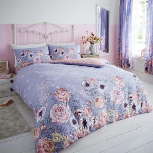 GC Violet Cottage Duvet Cover Set Lilac