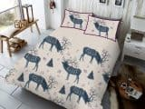 Winter Berry Stag Single Duvet Cover