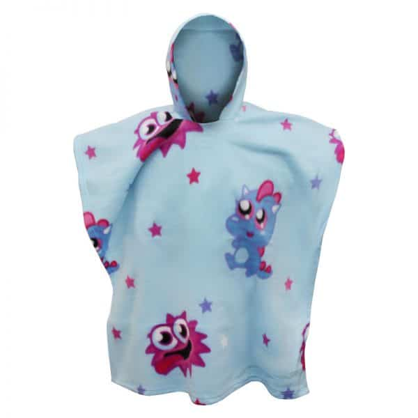 Moshi Monsters Monsters Fleece Poncho
