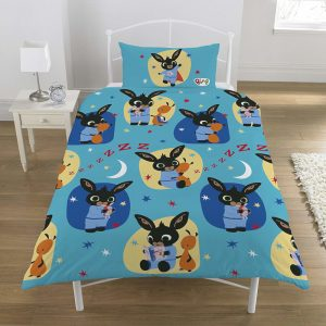 Bing Bunny Bedtime Single Duvet Cover Front