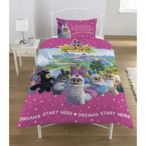 Bush Baby World Sparkle Single Duvet Cover Front