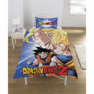 Dragon Ball Z Battle sola funda nórdica delantera
