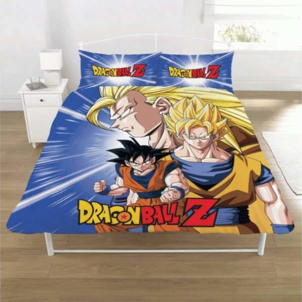 Dragon Ball Z Battle Double Duvet Cover Front