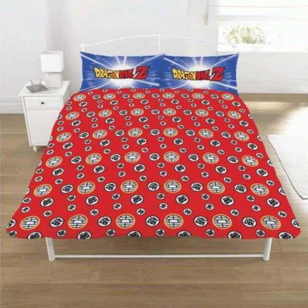 Dragon Ball Z Battle Double Duvet Cover Reverse