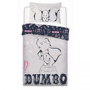 Dumbo Presenting Dumbo Single Duvet Cover