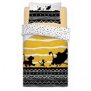 Funda nórdica Lion King Tribal Sunrise individual