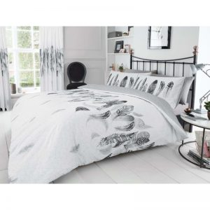 Feathers Duvet Cover White