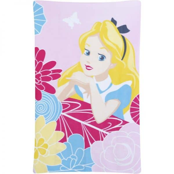 Alice In Wonderland Curious Fleece Blanket