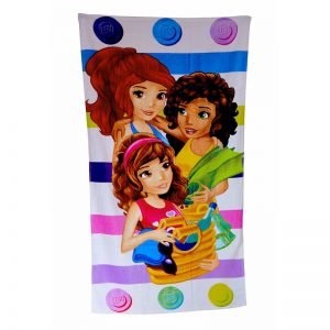Lego Friends Spot Handdoek
