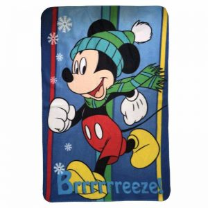 Mickey Mouse Brreeeze Fleece Filt
