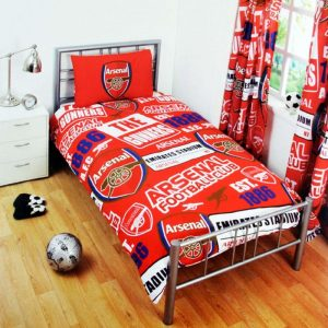 Arsenal Patch Single Duvet Cover