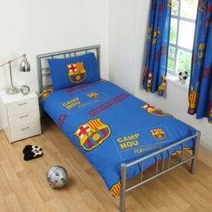 Barcelona Patch Single Duvet Cover