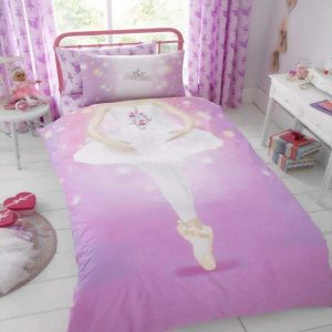 Housse de couette simple GC Young Uns Ballerina