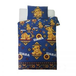 Housse de couette Single Lion King Simba