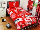 Liverpool FC Patch Single Duvet Cover