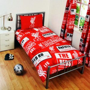 Liverpool Patch Single Duvet Cover