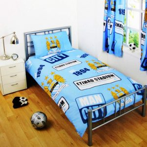 Manchester City Patch Single Duvet Cover