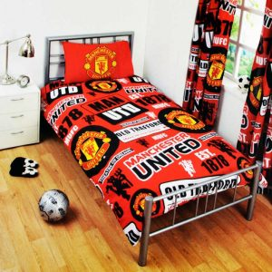 Manchester United Patch Single Duvet Cover